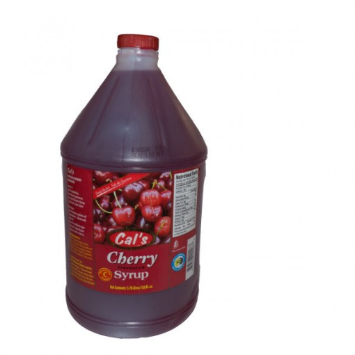 cal's cherry syrup 1gal | Sunlandcaribbean